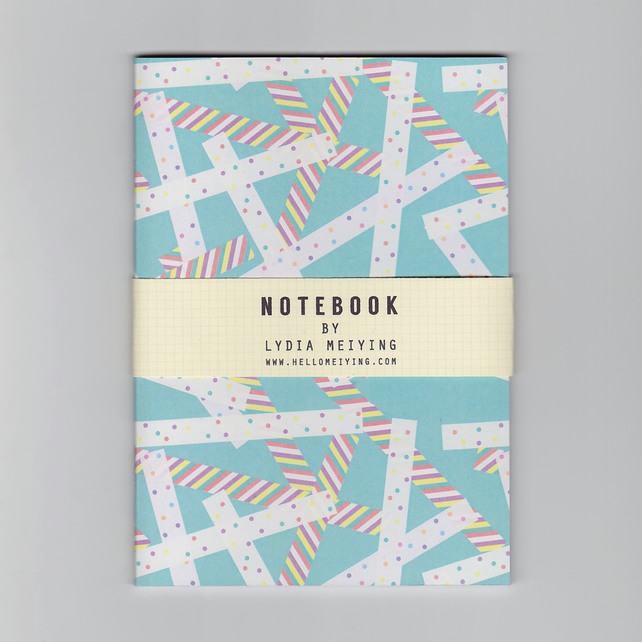 A6 Mini Notebook - Washi