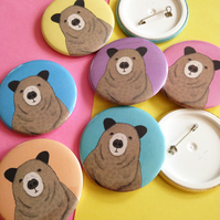 Toby the Bear, Illustrated Badge