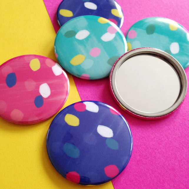 Spotty Pattern, Pocket Mirror