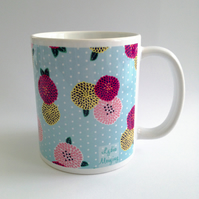 Spring Flowers Patterned Mug