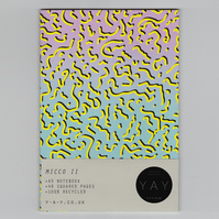 MICCO II - A5 Notebook with Squared Pages