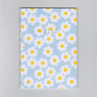 A6 Mini Notebook - Daisy - a Spring Floral Pattern