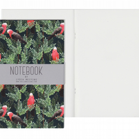 Plain Pages A5 Notebook - Galah Red