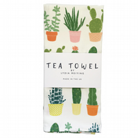 Succulents - Tea Towel