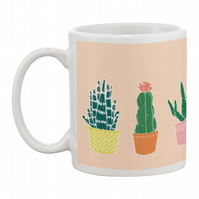 Succulents (peach)  Mug