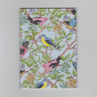 A6 Mini Notebook - Songbird