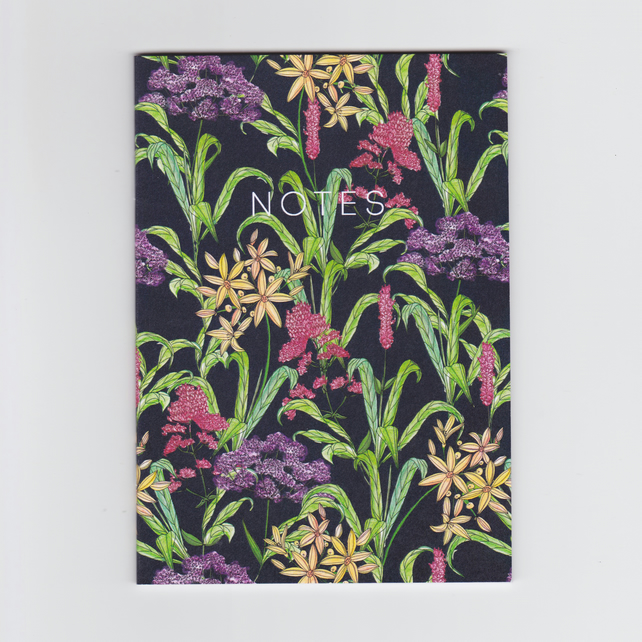 A6 Mini Notebook - Wildflowers