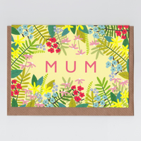Card for Mum - Floral