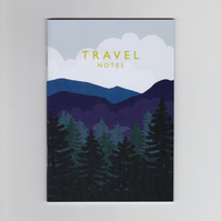 A6 Mini Notebook - Travel Notes