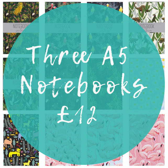 Offer! Three A5 Notebooks