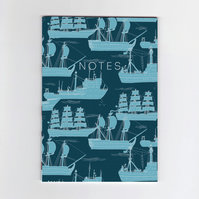A6 Mini Notebook - Ships