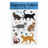 Temporary Tattoos: Cats