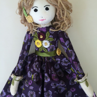 Jasmine rag doll nightdress case