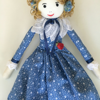 Daisy rag doll nightdress case