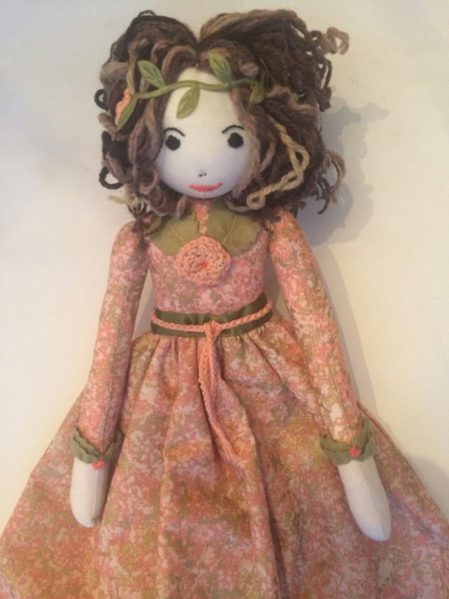 Titania rag doll nightdress case