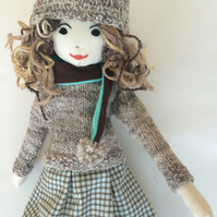 Hetty rag doll