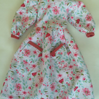 Summer dress for rag doll