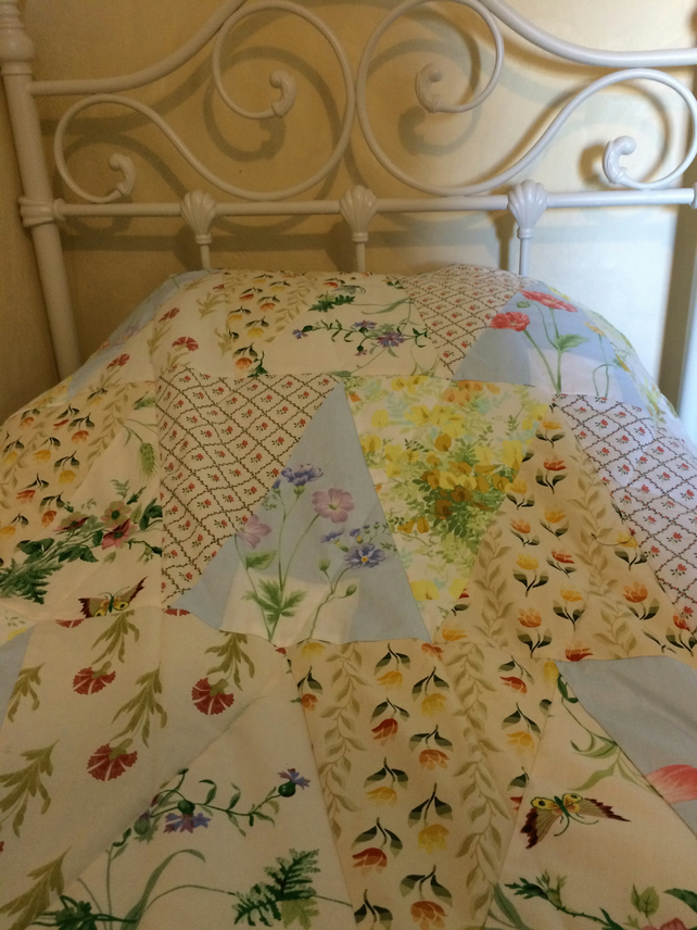 Easter patchwork quilt