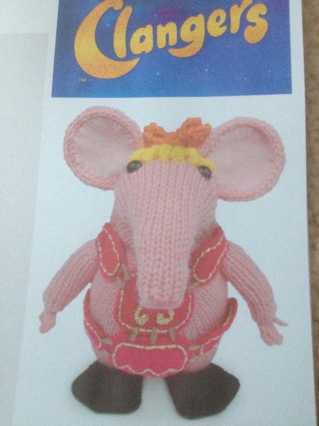 The Clangers Knitting Pattern - Folksy