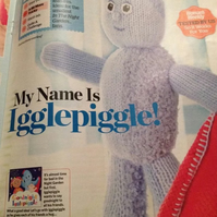 Igglepiggle Knitting Pattern from In The Night Garden