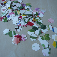 Handmade Flower Shaped Confetti