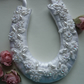 Small White Wedding Horseshoe