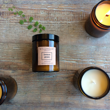 Soy Candle - NYC Apothercary - essential oils of Lemongrass