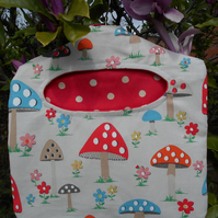 Peg bag, handmade with Cath Kidston fabric