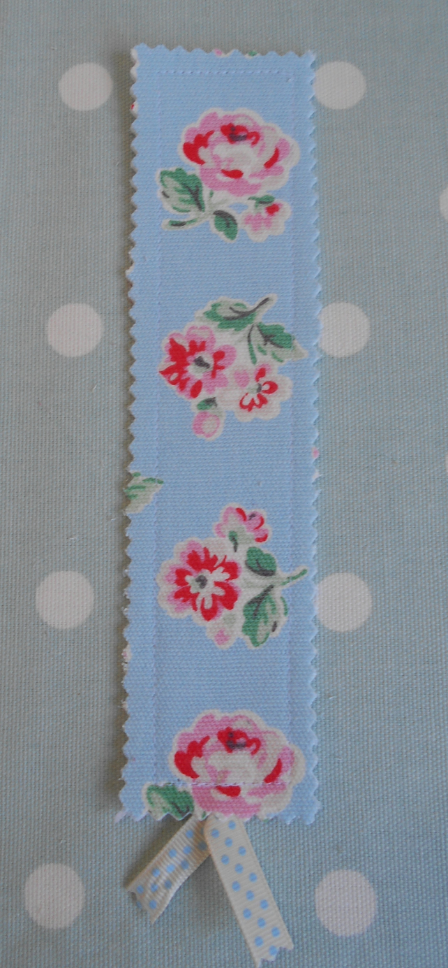 Bookmark, handmade from Cath Kidston fabric