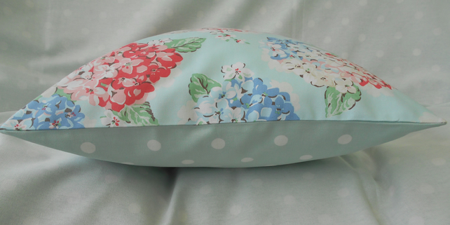 Cushion cover, handmade from Cath Kidston fabric