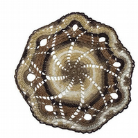 free UK shipping crochet doily vintage style round doily lace doilies