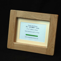 "8"" x 6"" Picture Photo Frame from the ""Acorn"" range by Chunky Oak Designs"