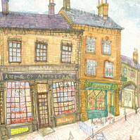 HAWORTH THE APOTHECARY - ROSE & CO - Signed Limited Edition Print