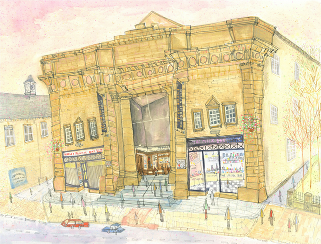 PICTURE HOUSE HEBDEN BRIDGE- Cinema - Signed Limited Edition Giclee Print