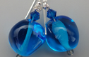 Earrings- lampwork glass
