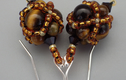 Earrings- beadwoven