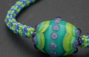 Necklaces- lampwork glass and semiprecious beads