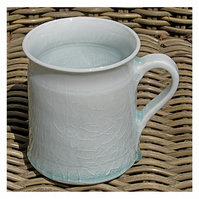 Pottery mug 9637 porcelain h100 x 86mm 394g