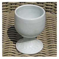 Pottery goblet 9689-18 porcelain h123 x 90mm 400g
