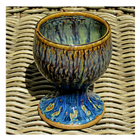 Pottery goblet 9708 stoneware h104 x 84mm 313g