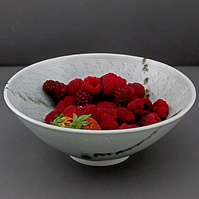 Pottery bowl 9137 porcelain h67 x 172mm 430g