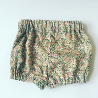 Liberty cord baby bloomers