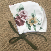 Autumn Garden Baby Bonnet