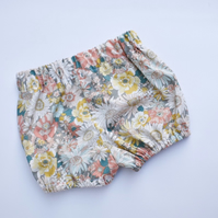 Grey Floral bloomers