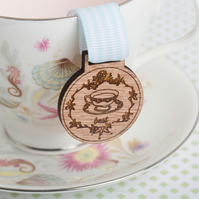 'Best Cup of Tea' Medal: tea drinker award, brewmaster, tea jewellery, tea lover