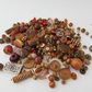 Brown Beads. Mixed bag of Brown Beads, Brown Beads for craft making
