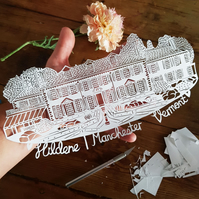 Custom Papercut Venue
