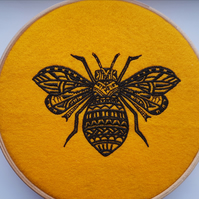 Bumble Bee Hanging Hoop
