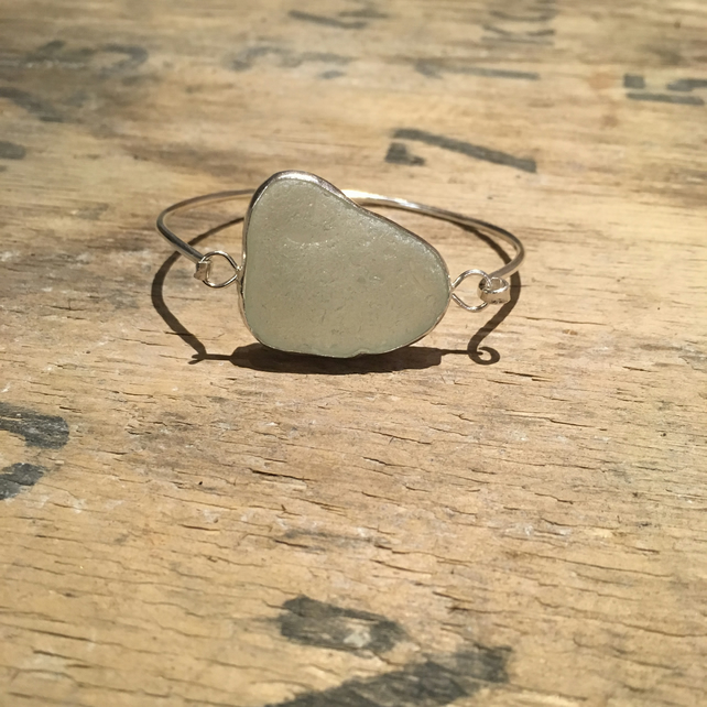 Seaglass bangle