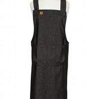 Black Denim Susie Apron